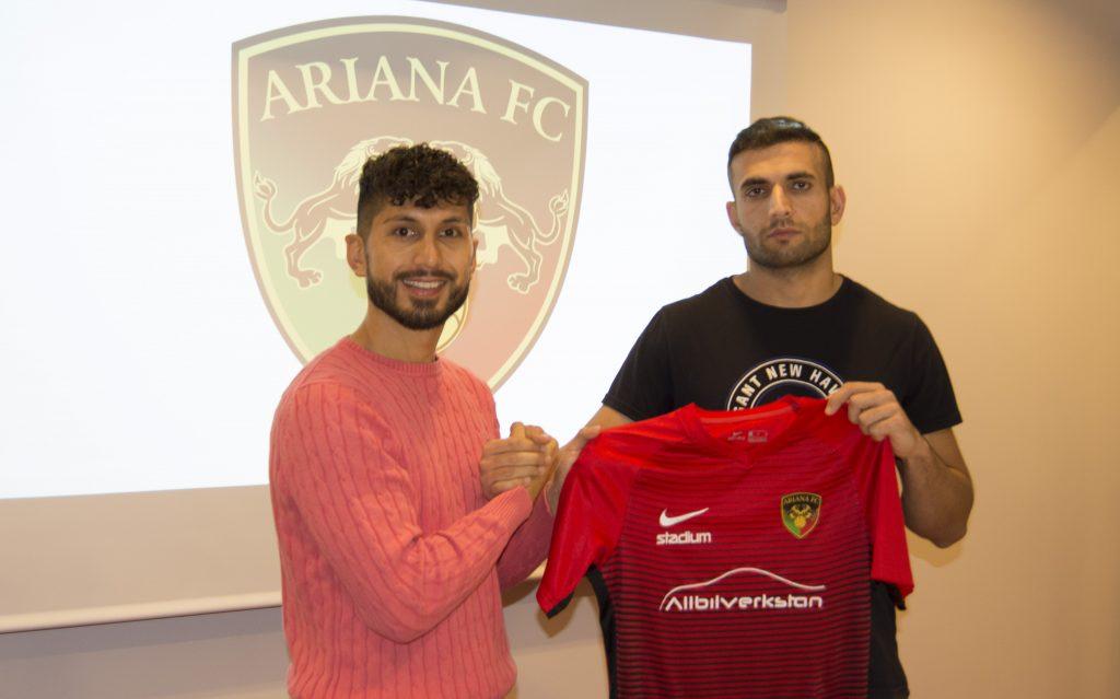 Delawar Zadran klar för Ariana FC